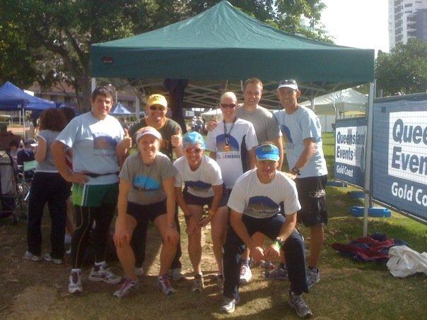Some of the Half and 10km runners: Fabian, Emily, Jerrod, Mary, Pamela, Jonas, Stan, Jacko